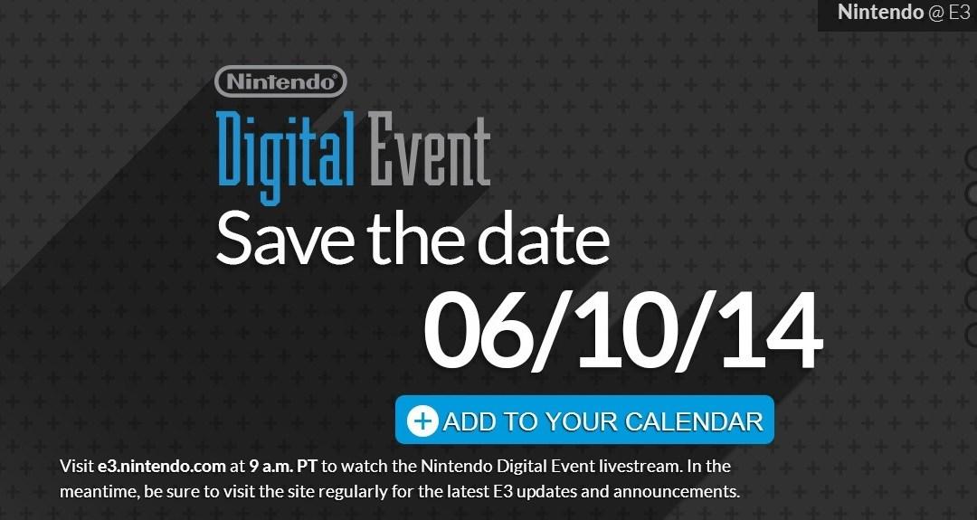 Sigue aquí la presentación de Nintendo en E3 2014 en vivo