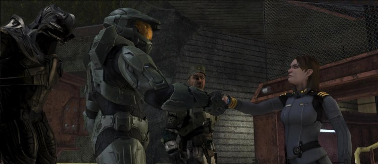 Halo 3 campaign cutscene