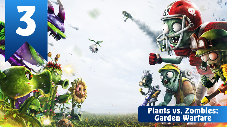 3 Plants vs zombies