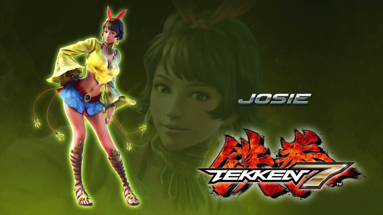 Josie el nuevo personaje de Tekken 7