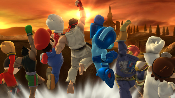 Aún queda DLC en Super Smash Bros. Wii U/3DS