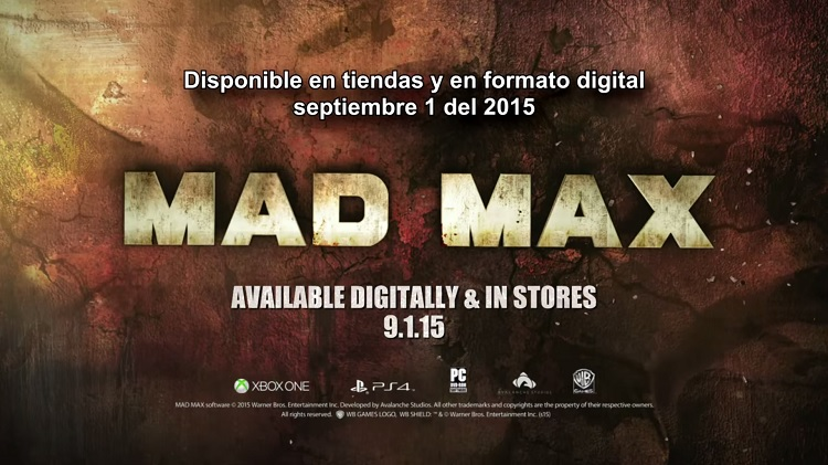 Nuevo trailer de Mad Max: Stronghold