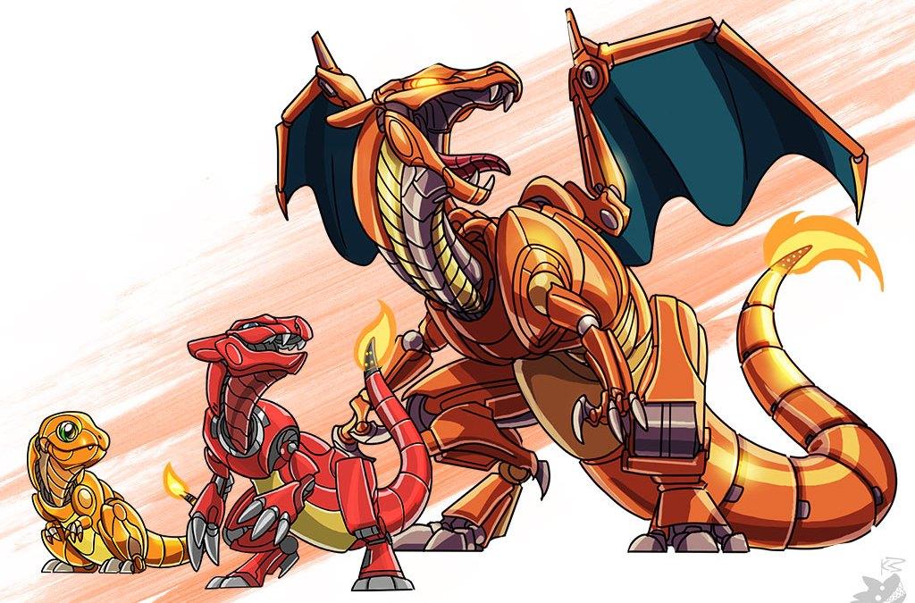 Pokémon en versión Mech!