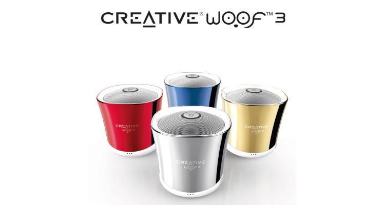 """Creative Anuncia su nuevo micro altavoz """"Woof 3"""""""