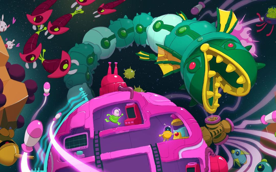 "¿Juegas en pareja? Debes probar ""Lovers in a Dangerous Spacetime"""