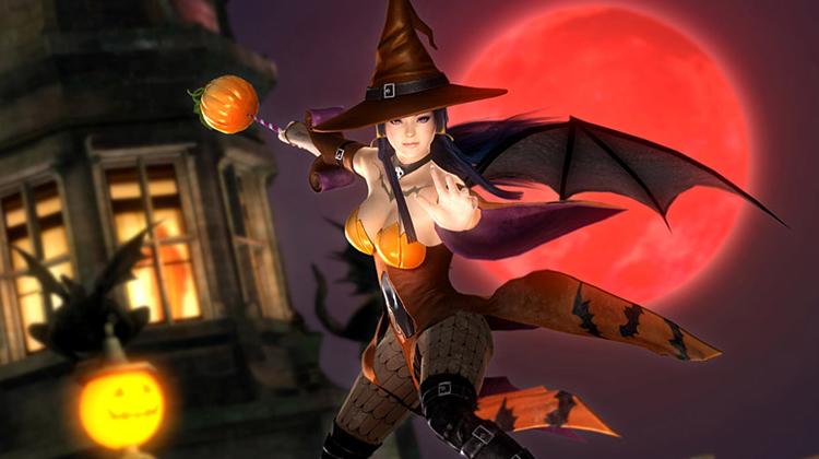 El Halloween llegó a Dead or Alive 5 Last Round