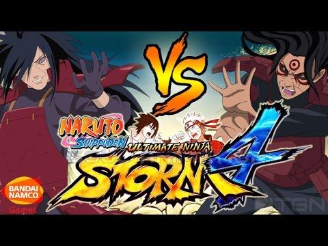 Naruto Shippuden Ultimate Ninja Storm 4 también con Trailer en español latino