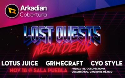 Cobertura | Lost Quests Neon Devil