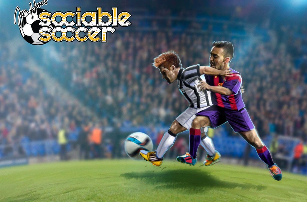 Sociable Soccer ya disponible en Kickstarter