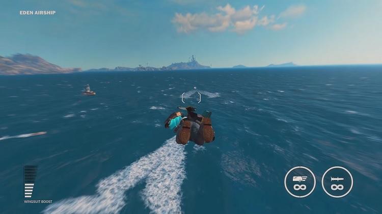Sky Fortress el nuevo DLC de Just Cause 3
