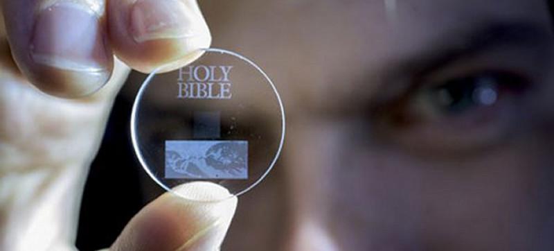 Habemus tecnología: 360TB en un disco de cuarzo!