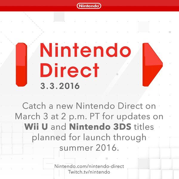 ¡Un nuevo Nintendo Direct!