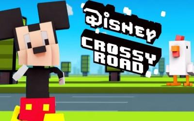 Disney llega a Crossy Roads