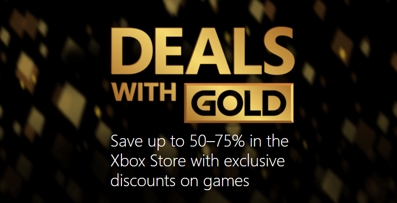 Ofertas semanales de Deals with Gold para Xbox (26 abril)