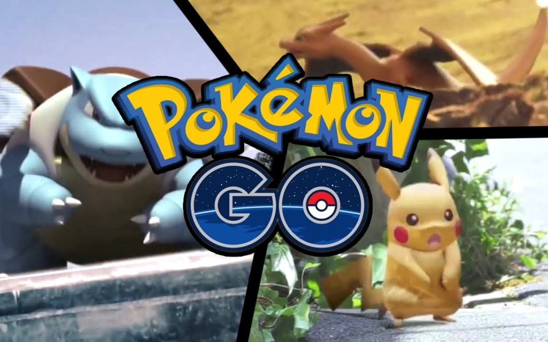 Se filtra Gameplay de Pokémon GO