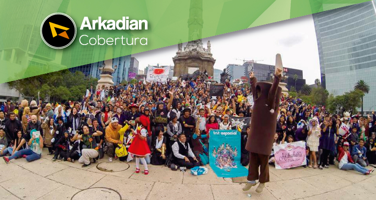 Cobertura | Marcha del orgullo Friki 2016 en la CDMX