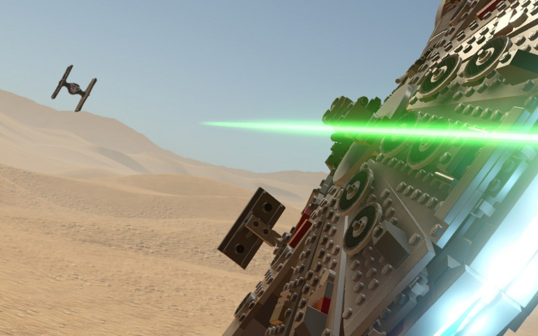 E3 2016 | Descarga ya el demo de Lego Star Wars: The Force Awakens en tu PS4