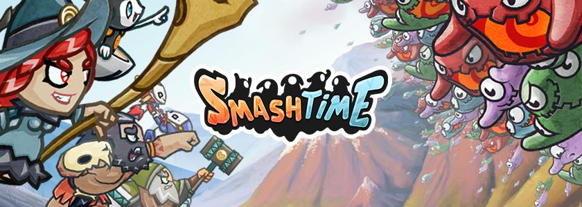 Prepárense para aplastar a las Babas invasoras en Smash Time