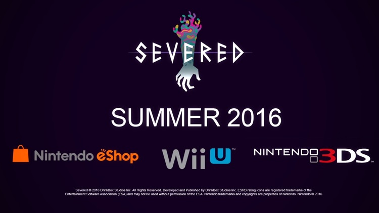 E3 2016 | Severed llegará a Nintendo Wii U y 3DS.