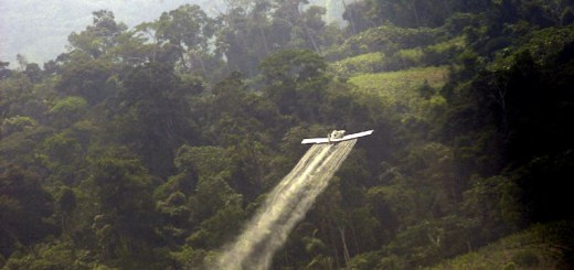Colombia aerial fumigation