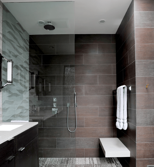 Dise os de duchas modernas arkiplus for Fotos de duchas