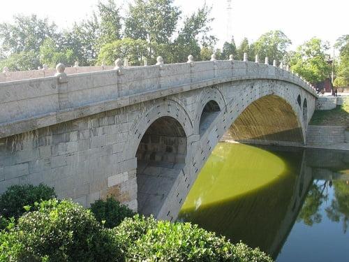 Puente de Zhaozhou en China.