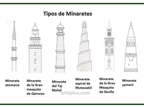 tipos de minaretes