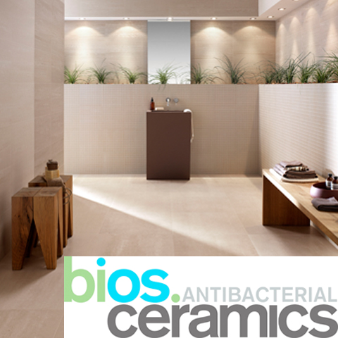 Bios antibacterial ceramics