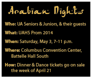 Arabian Nights, Prom 2014