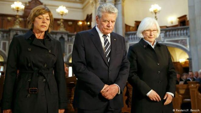 German President Gauck labels Ottoman massacre of Armenians 'genocide'