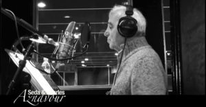 aznavourcopy 300x156 Charles and Seda Aznavour Record New Duo in Armenian