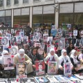 Kurdish mothers commemorate the Armenian Genocide on April 24, 2010 in Beyoglu, Istanbul. (Photo by Khatchig Mouradian)