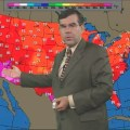 Al Kaprielian has been forecasting the weather for 26 years and has a cult following throughout New Hampshire.