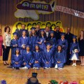 SSAES Elementary Graduates with Principal Houry Boyamian, Teachers Ardemis Megerdichian, Kacie Carli and Rev. A. Boynerian, Rev. Fathers A. Baljian, A. Aljalian, K. Bedourian and Rev . G. Haroutunian. Photo courtesy Mardo Kevorkian (Flash Photo)