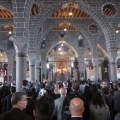 Hundreds gathered inside Sourp Giragos on Saturday for the consecration of the church. (Photo: The Armenian Weekly)