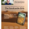 New York Times best-selling author Chris Bohjalian will be signing copies of his newly-released epic novel The Sandcastle Girls on Saturday July 21, from 2p.m. to 4:30p.m. at the Hairenik Bookstore stand.