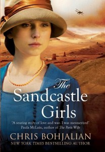 cover 208x300 'Sandcastle Girls' Invades Best Seller Lists Nationwide; UK Edition Released