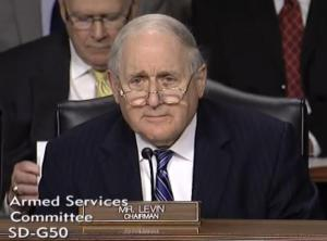 Chairman Levin 300x222 Chairman Levin Questions Hagel on US Armenia Defense Relationship