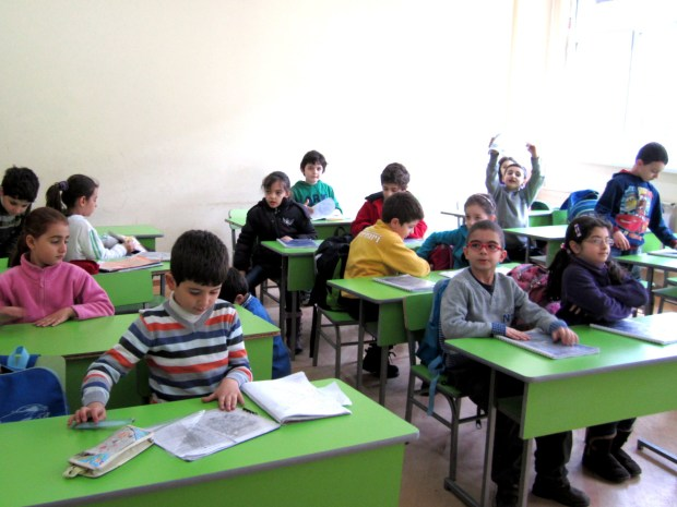 IMG 59901 1024x768 School for Syrian Armenian Kids Forges Ahead in Yerevan