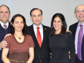 Members of the Executive Board of the Armenian Center at Columbia (Photo by Robert V. Kinoian)