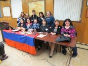 Participants from the panel discussion hosted by the Armenian International Women's Association (AIWA)