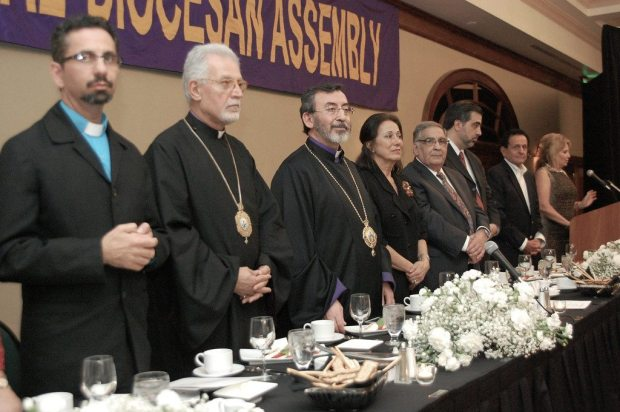 diocese photo2 Jeb Bush Honored as 'Friend of Armenians' at Diocese Banquet