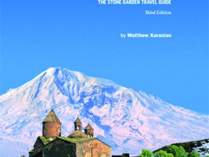 Karanian will tell the story of how he and co-author Robert Kurkjian created Armenia's first travel guide more than a decade ago, and how that guide has grown and evolved through three editions to become the award-winning book that was recently released.