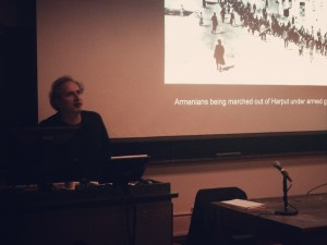 Peter Balakian recounting the story of his grandmother's escape during the Armenian Genocide