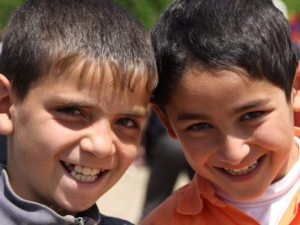 Syrian-Armenian children