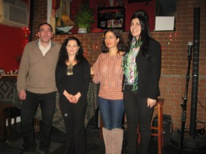 The Third Annual Readings, organized by the New York chapter of Hamazkayin Armenian Educational and Cultural Society, took place on Feb. 22 at the cafe Waltz in Astoria, N.Y.