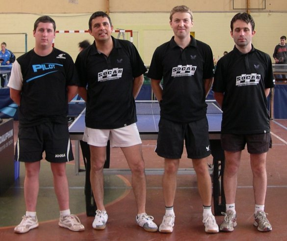 Armor Ping 3 - Champion départemental de D4 2011