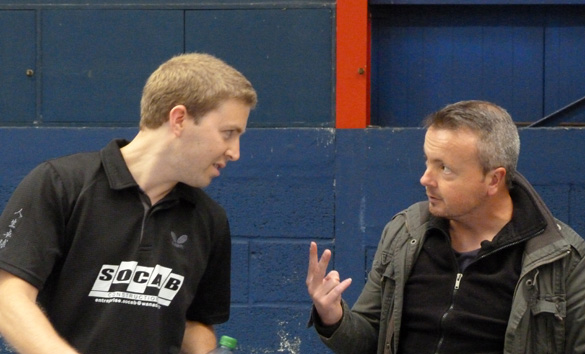 Coaching de Seb sur Laurent - 07 mai 2011