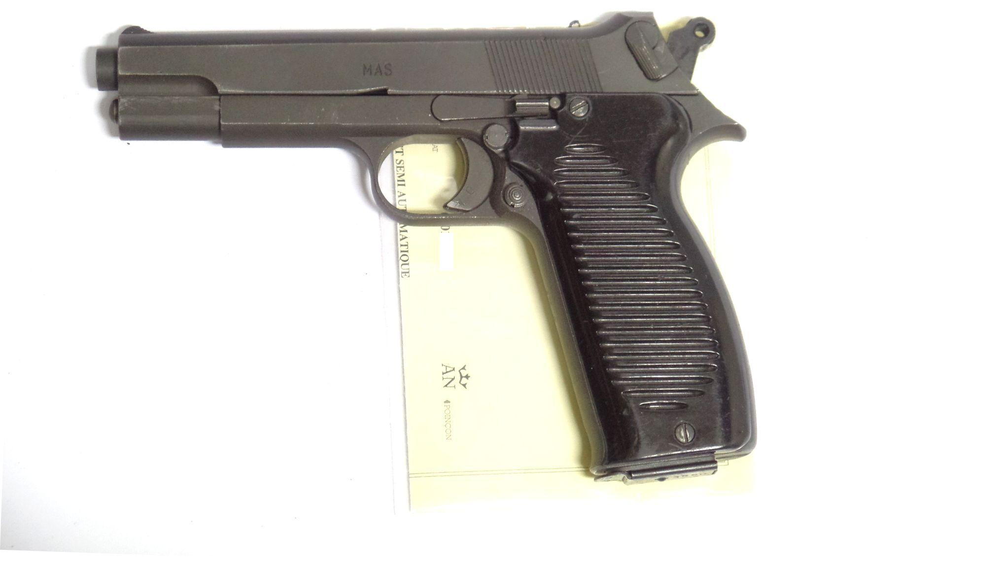 MAC 50 calibre Neutralisé