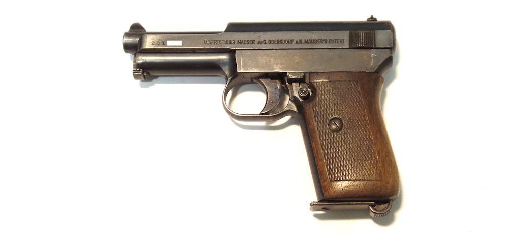 MAUSER Modele 1910 calibre 7.65 Browning
